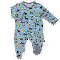 Magnetic Me Infant In-Dog-Nito Modal Magnetic Footie Pajama