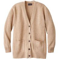 Pendleton Women's Boyfriend Shetland Washable Wool Cardigan Sweater