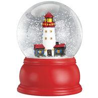 Old World Christmas Lighthouse Snow Globe
