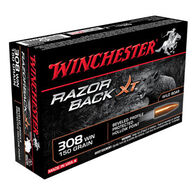 Winchester Razorback XT Lead-Free 308 Win 150 Grain Hollow Point Rifle Ammo (20)