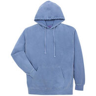 Alpha Men's Pigment-Dyed Hooded Sweatshirt