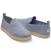 TOMS Women's Deconstructed Alpargata Slip-On Shoe