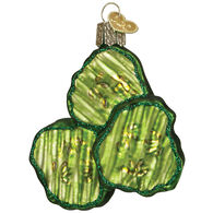 Old World Christmas Pickle Chips Ornament