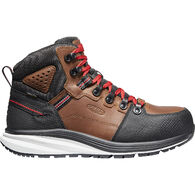 "Keen Men's 7"" Red Hook Carbon-Fiber Toe Waterproof Work Boot"