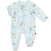 Magnetic Me Infant See The World Modal Magnetic Footie Pajama