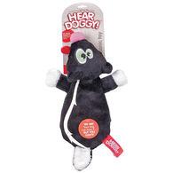 Hear Doggy Flattie Skunk Ultrasonic Dog Toy