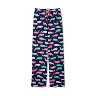 Hatley Little Blue House Women's Nautical Whales Jersey Pajama Pant