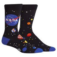 Sock It To Me Men's Solar System NASA Crew Sock