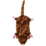 Zanies Barnyard Unstuffies Mouse Dog Toy
