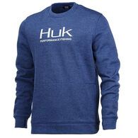Huk Men's Hull Crew Performance Fleece Sweatshirt