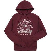 Lakeshirts Men's Kittery Trading Post Moose Hooded Sweatshirt