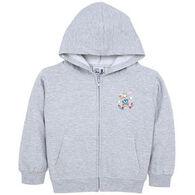 Esy Infant Full-Zip Moose Hooded Sweatshirt