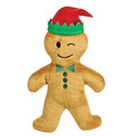 Grriggles Gingerbread Emoji Man Dog Toy