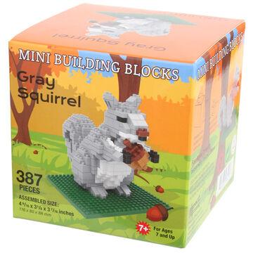 Impact Photographics Gray Squirrel Mini Building Blocks