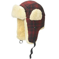Woolrich Men's Trapper Plaid Wool Hunting Hat