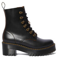 Dr. Martens AirWair Women's Leona Vintage Smooth Leather Heeled Boot