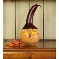 Meadowbrooke Gourds Warehime Medium Lit Scarecrow