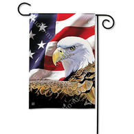 BreezeArt Spirit Of Freedom Garden Flag