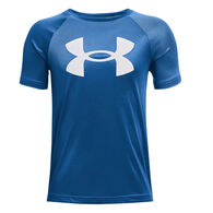 Under Armour Boy's Tech Big Logo Printed Short-Sleeve T-Shirt