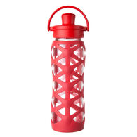 Lifefactory 22 oz. Glass Bottle w/ Active Cap & Silicone Sleeve
