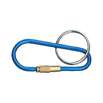 Bison Designs Mini Link Carabiner Keychain