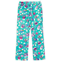 Candy Pink Girl's Polar Bear Pajama Pant