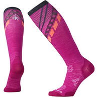 SmartWool Women's PhD Ski Ultra Lite Pattern Sock