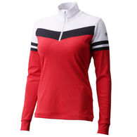 Descente Women's Diem Quarter-Zip Baselayer Top