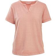 Woolrich Women's First Forks Split Neck Short-Sleeve T-Shirt