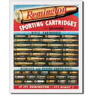 Desperate Enterprises Remington Sporting Cartridges Tin Sign
