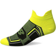 New Balance Men's Technical Elite Hydrotec No Show Thin Double Tab Sock - Special Purchase
