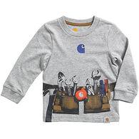 Carhartt Infant/Toddler Boy's Toolbelt Long-Sleeve T-Shirt