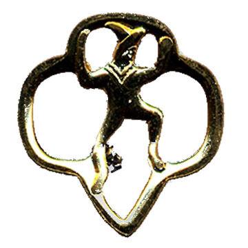 Girl Scouts Brownie Membership Pin