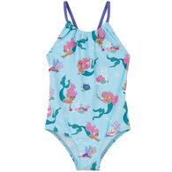 Hatley Girl's Mermaid Tales Swimsuit