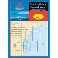 Maptech Waterproof Chartbook - Cape Ann, Mass. to Portland, Maine