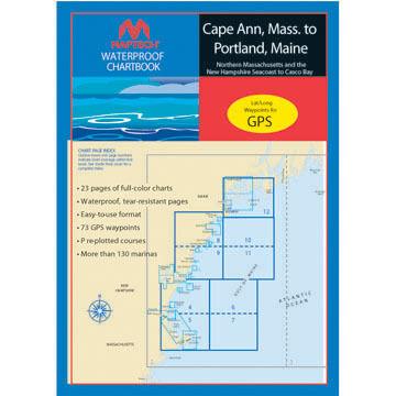 Maptech Waterproof Chartbook - Cape Ann, Mass. to Portland, Maine