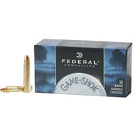 Federal Game-Shok 22 Winchester Magnum 50 Grain JHP Ammo (50)