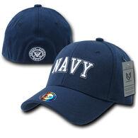 Rapid Dominance Men's Flex Baseball Cap - Navy