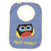 Lazy One Toddler Boy's Hoo's Hungry Bib