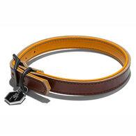 Wolfgang Horween Tan Leather Dog Collar