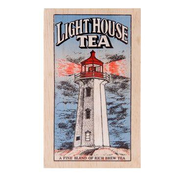 Metropolitan Lighthouse Tea Soft Wood Chest, 25-Bag