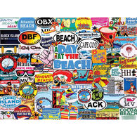 White Mountain Jigsaw Puzzle - A Day At The Beach
