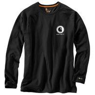 Carhartt Men's Force Cotton Delmont Graphic Long-Sleeve T-Shirt