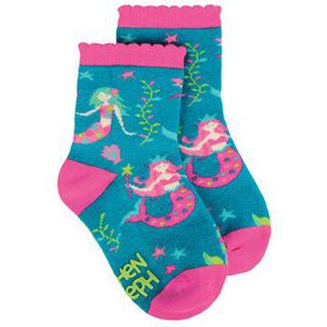 Stephen Joseph Toddler Mermaid Sock