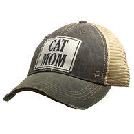 Vintage Life Women's Cat Mom Distressed Trucker Hat