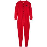 Hatley Men's Red Bear Bum Union Suit