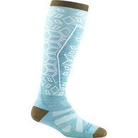 Darn Tough Vermont Women's Traverse Over-The-Calf Lightweight Ski & Snowboard Sock
