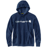 Carhartt Men's Big & Tall Force Delmont Signature Graphic Hooded Sweatshirt