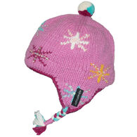 Everest Designs Girl's Twinkle Earflap Hat