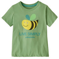 Patagonia Infant/Toddler Baby Live Simply Organic Cotton Short-Sleeve T-Shirt